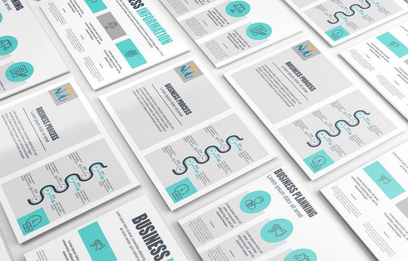 עיצוב מצגת חברה NVU