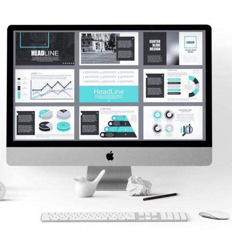 עיצוב מצגת עסקית