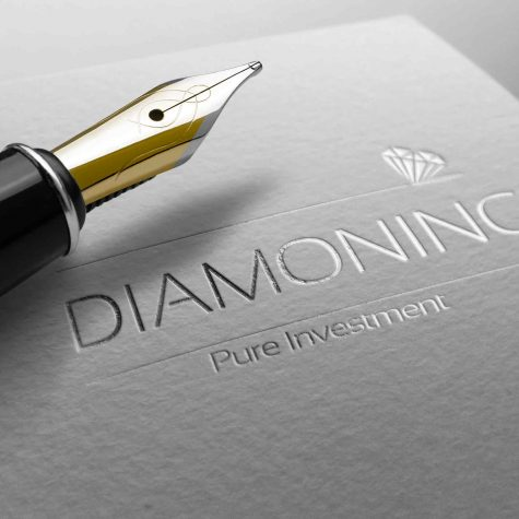 עיצוב לוגו לחברת השקעות ביהלומים