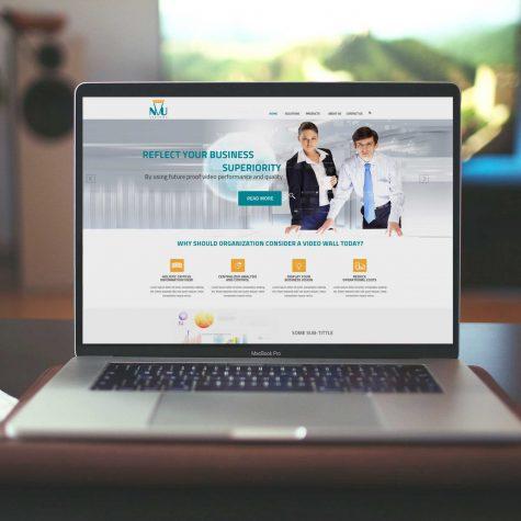 עיצוב אתר NVU SYSTEMS